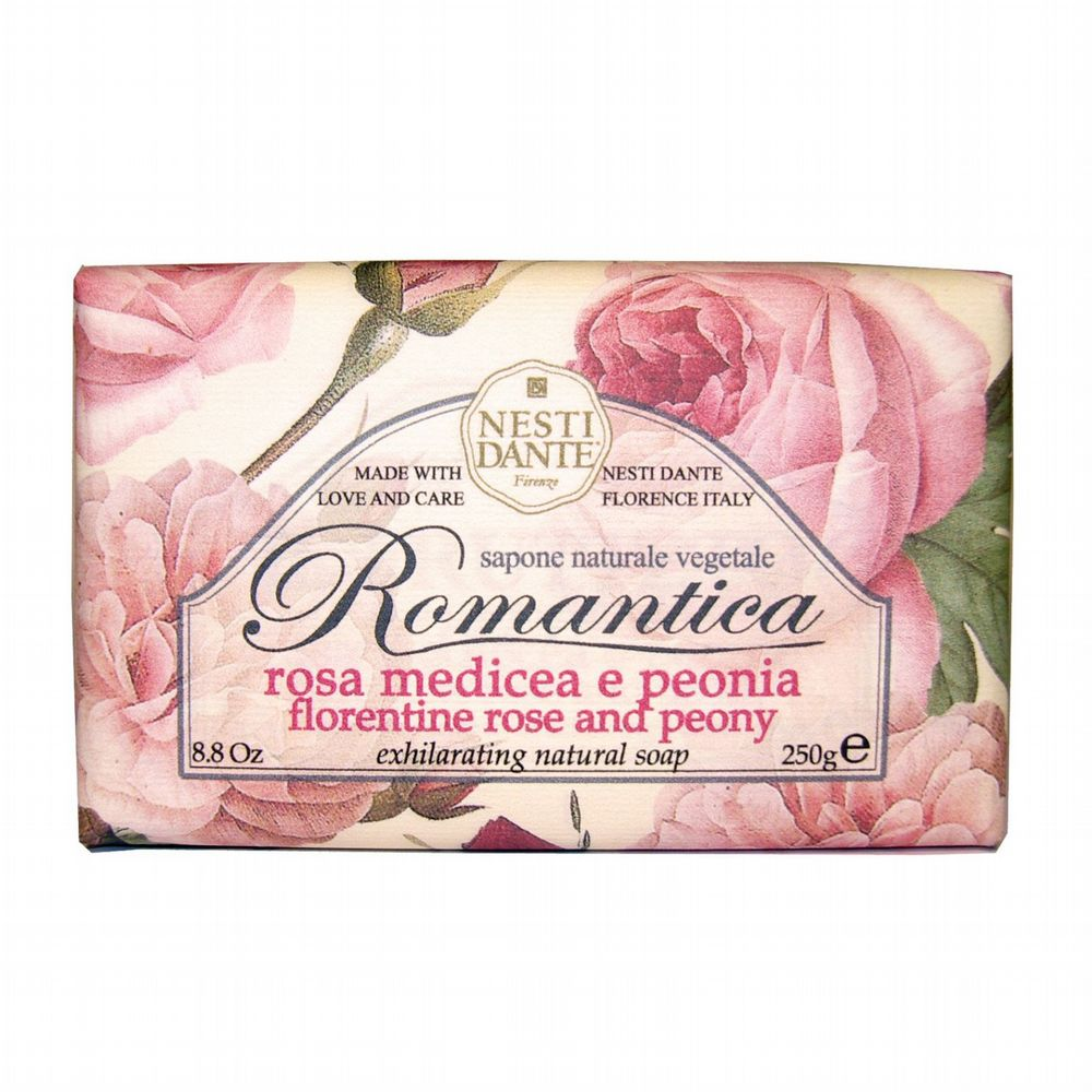 Nesti Dante Soap - Florentine Rose and Peony Romantica